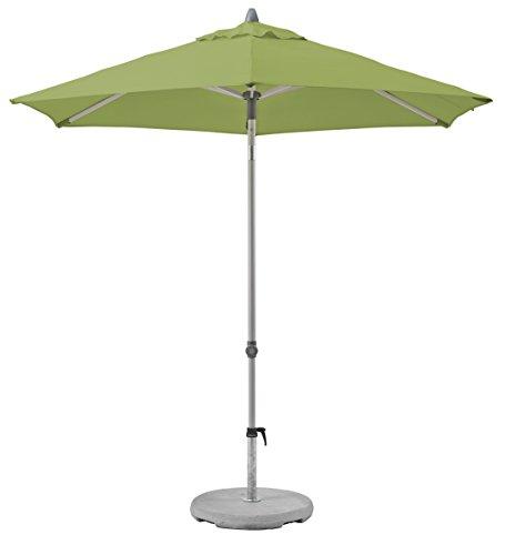 Suncomfort by Glatz Push up, kiwi, 250 cm rund, Gestell Aluminium, Bespannung Polyester, 4.6 kg