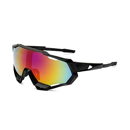 T-ara La tecnologia mas Nueva Gafas Gafas a Prueba de Viento Protector Solar Gafas de Sol Gafas Gafas de Motocicletas Gafas Pesca polarizada Pesca Ciclismo Moda (Color : 7)