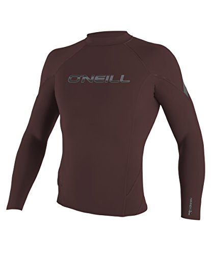 O'Neill Wetsuits Men's Hammer 1.5mm Long Sleeve Crew, Myers/Graphite, Small