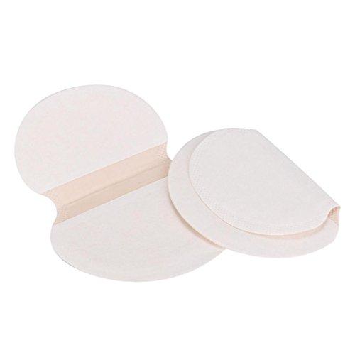 30pcs sous-Bras Disques Anti-transpirants pour Chemisiers et Blouses, Koly Pure Pads Tampon Aux aisselles au Revoir Déodorant Anti-Transpirant Déodorant