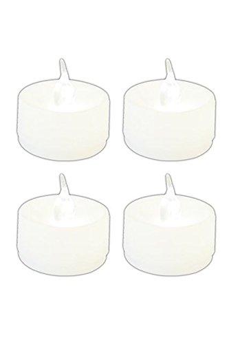 Set de 4 bougies led