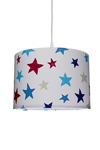 Waldi Chambre Lampe Suspension avec astérisque, E27