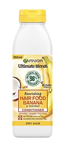 Garnier Ultimate Blends Nourishing Hair Food Banana Conditioner For Dry Hair, 350ml