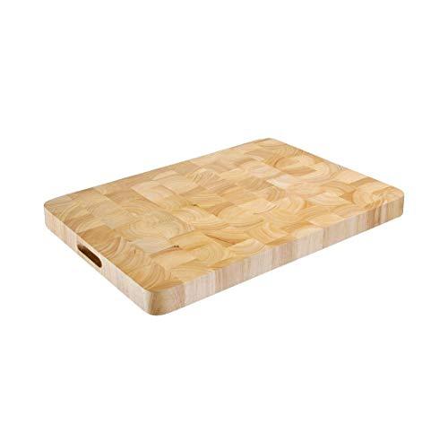 Tabla de cortar de madera con forma rectangular Vogue (45x 610x 455mm)
