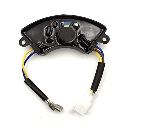 JIAN Fit für den automatischen Spannungsregler 2kw 5kw Hochwertige Einzel- / 3-Phase Bester Preis Benzingenerator AVR Exquisite (Color : 2KW 1 Phase Curved)