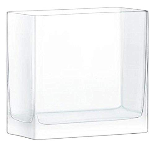 LSA International Modular Vase, Glas, klar, 20x 20x 10cm