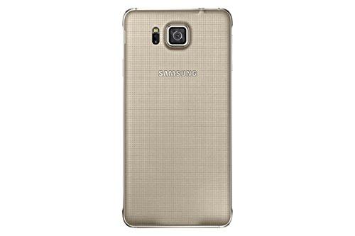 Samsung EF-OG850SFEGWW Galaxy Alpha Akkudeckel für Smartphone Gold