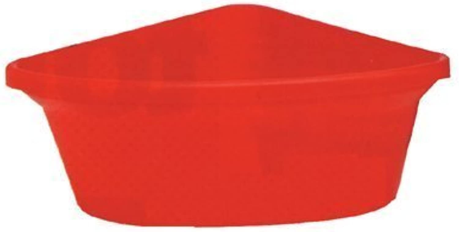 Fortiflex Corner Feeder for Dogs and Horses, 6Gallon, Red by FortexForiflex Inc.