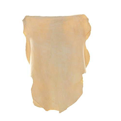 (3 Pack) Car Natural Chamois Cleaning Cloth, RIVERLAKE Genuine Deerskin Leather Auto Car Wash Drying Towel,Super Absorbent,3 Available Sizes.L/M/S (L/M/S 3IN1)