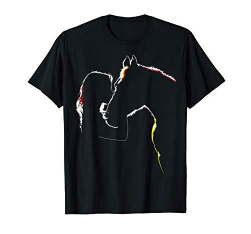 Cavallo Ragazza Cavalli Maglietta