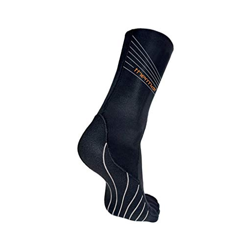 blueseventy Thermal Swim Socks - for Triathlon Training and Cold Open Water Swimming (Large)