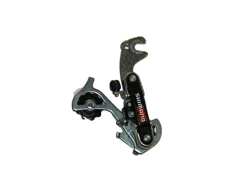 SHIMANO TY18 (TY22 TY20 SIS REAR DERAILLEUR,LONG CAGE GEAR MECH SUIT 6,12,18 SPEED WITH HANGER SUIT MTB MOUNTAIN BIKES & MOST OTHER BIKES