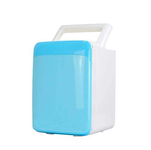 FACAZ Mini refrigerador de Coche de 10 l, refrigerador eléctrico portátil, Caja de refrigerador, Calentador, congelador, Viaje de Picnic al Aire Libre [A ++] Rosa