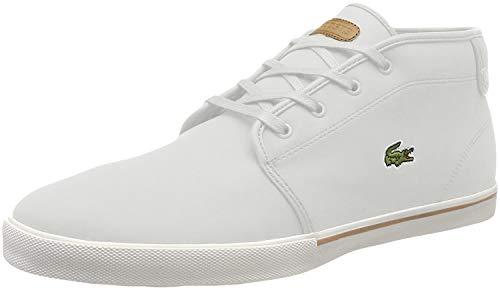 Lacoste Herren Ampthill 119 1 CMA Hohe Sneaker, Elfenbein (Off Wht/Lt BRW 2r2), 44 EU