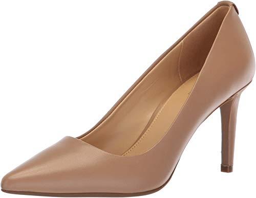 MICHAEL Michael Kors Womens Dorothy Flex Pump Leather, Dk Khaki, Size 11.0