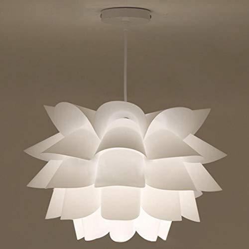 Snow Lotus - Lámpara de techo moderna con iluminación LED para comedor, cuarto de baño, dormitorio, salón