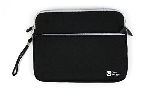 DURAGADGET Funda De Neopreno Negra para Tablet Artizlee ATL-31 / Winnovo MiTab Pro - con Bolsillo Exterior