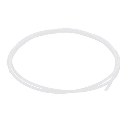 1Meter 1mm ID 2mm OD PTFE Rohr Schlauch Leitung für 3D Druck RepRap beige weiß DE de