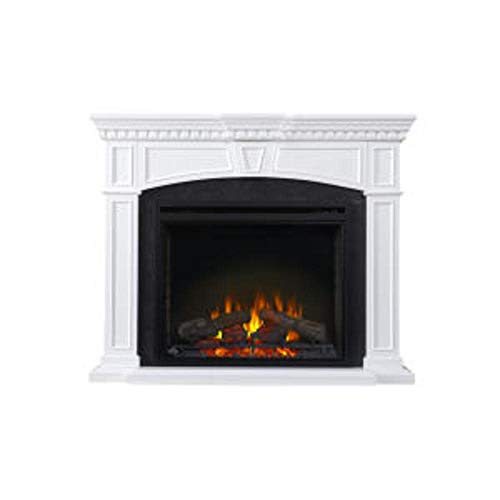 Napoleon Taylor-NEFP33-0214W Electric Fireplace with Mantel, 33 Inch, White