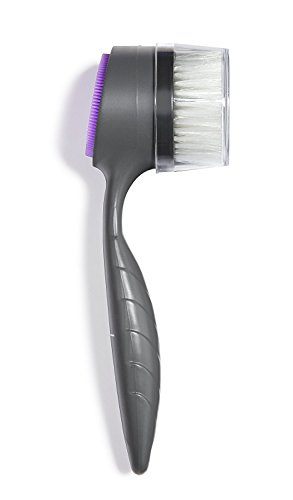 THE PERFECT FACE BRUSH - Patented Dual-Sided Exfoliating,...