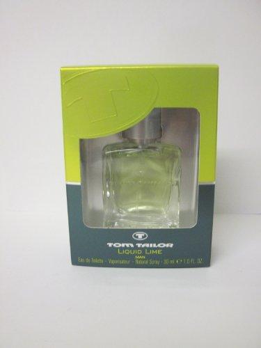 TOM TAILOR Liquid Lime Man EdT Natural Spray 30 ml, 1er Pack (1 x 30 ml)