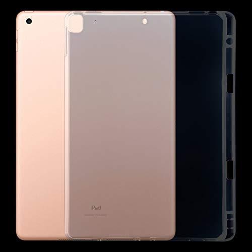 ZHANGYOUDE 10.2 for el iPad/Pro (2017) Funda Protectora del 10,5 3mm Transparente a Prueba de Golpes con la Ranura de la Pluma