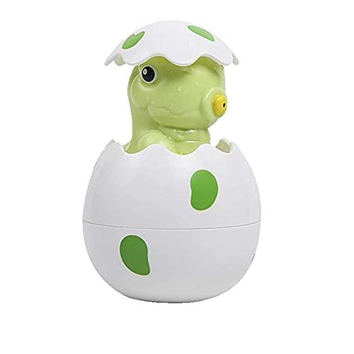 LINANNAN Agua APUESTOS Dinosaurio Lindo Huevo Flotante Agua Flotante Rociador de Agua para Bebé Playtime Bebé Baño para Bañera Piscina