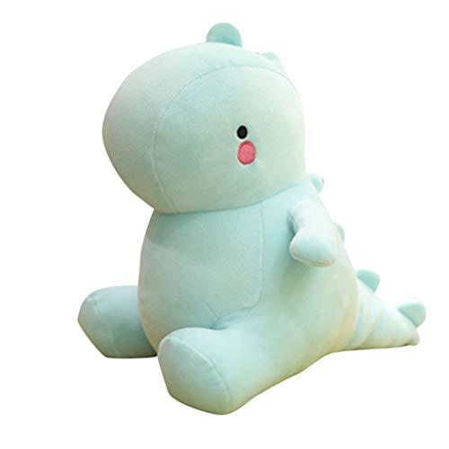 Wenini Cute Dinosaur Plush Toys Dinosaur Soft Stuffed Animals Dolls Toys Kids Birthday Festival Gift 12Inch (Light Blue)