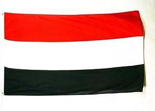 AZ FLAG Bandera de Yemen 250x150cm - Gran Bandera YEMENÍ 150 x 250 cm