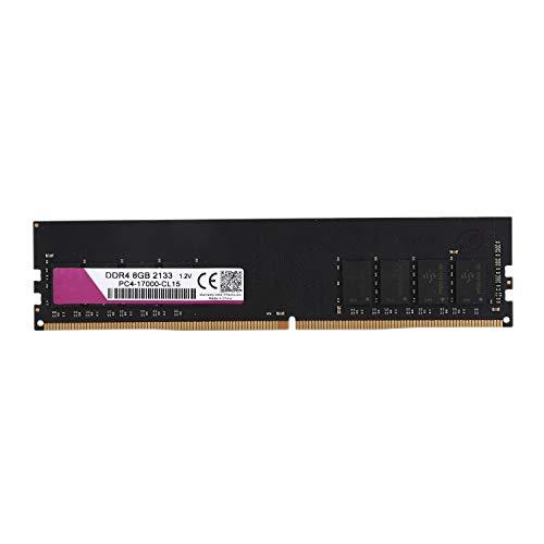 TOOGOO DDR4 1.2V PC RAM Speicher DIMM 288-Pin RAM für Desktop Computer Ram (8G / 2133Mhz)