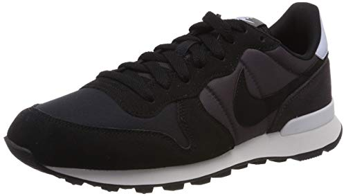 Nike Damen WMNS Internationalist Laufschuhe, Grau (Black/Black/Thunder Grey/Half Blue 029), 36 EU