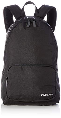 Calvin Klein Jeans Men's Item Backpack W/Zip Pocket, CK Black, OS Large