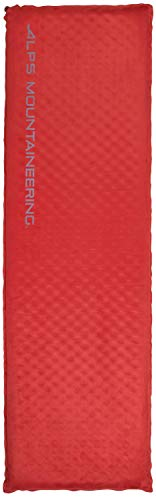 ALPS Mountaineering Apex Self-Inflating Air Pad, Long, Red