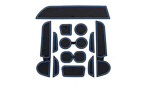 coche Tapete ranura puerta Accesorios Para Almohadilla Con Ranura Para Puerta, Accesorios De Modificación De Alfombrilla De Goma 3D Para Coche Para Mitsubishi Para Mirage 2012-2018 Coche Antideslizant