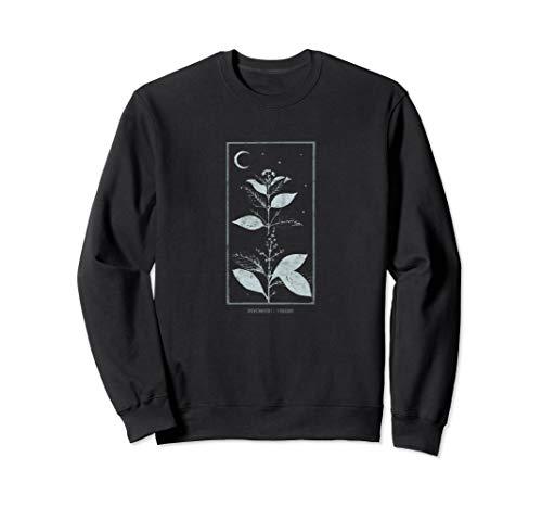 Occult Halluzinogene DMT Pflanze Gothic Grunge Tarot Trip Sweatshirt