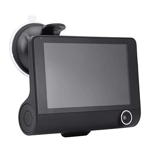 4 Inch 1080P HD 3 Lens Car DVR Video Driving Recorder Dash Camera Rearview Camera Car Acessories