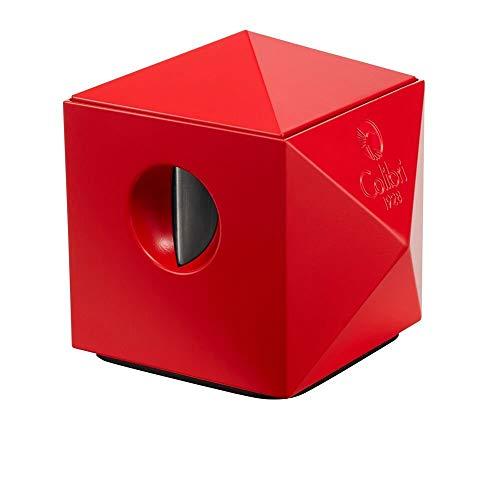 Colibri Quasar Two-In-One Tabletop Matte Red Cigar Cutter