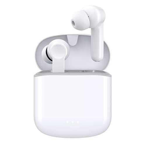 【2021進化版】Otium Bluetooth イヤホン 完全ワイヤレス イヤホン Hi-Fi 高音質 ブルートゥース イヤホン 最大30時間音楽再生 IPX7防水 Bluetooth5.1 CVC8.0ノイズキャンセリング 自動ペアリング 瞬時接続 低遅延 AACコーデック対応 ノイズキャンセリング 左右分離型 両耳/片耳対応 マイク内蔵 スポーツイヤホン ハンズフリー通話勤務/ビジネス/運転/仕事/通学/ウォーキング ios/windows/Android適用