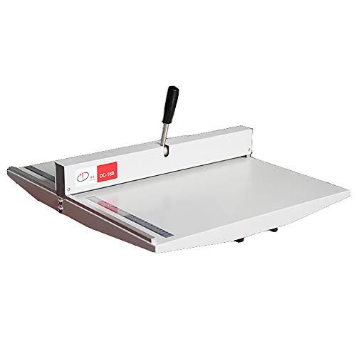 NEWTRY 紙折機 マーキングプレス機 マニュアル 手動 業務用 文書、名刺、写真、招待状などの背を作る A2/A3/A4対応 卓上型 折り目長さ525mm