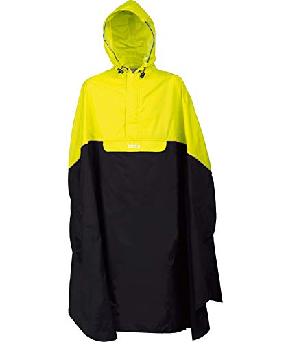PRO-X elements Poncho Trento, Neongelb/Charcoal, XL/XXL, 3065