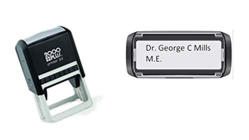 DOCTORS-NURSES-MIDWIFE-ER ROOM-DENTIST Custom Stamp - up to 3 lines of text