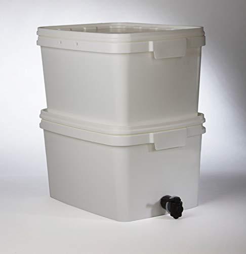 Gravitations Wasserfilter für Krisenvorsorge und Notfall - inkl. 2 Sterasyl Filterelemente, von Doulton