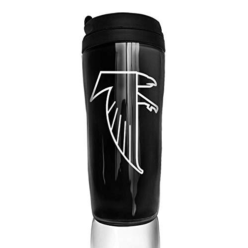 Qurbet Kaffeebecher Thermobecher mit Schraubdeckel, Coffee Mugs, Atlanta Freddie Falcon, Portable Insulated Organic Coffee Mug Carry Hand Cup for Women Men