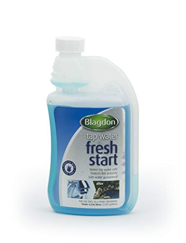 Interpet 2682 Blagdon Fresh Start vloeibare waterbehandeling voor de eerste vijvervulling, voordeelverpakking 500 ml
