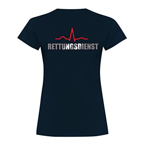 Rescue Point Rettungsdienst Damen Kurzarm T-Shirt KRETTER1D (S)