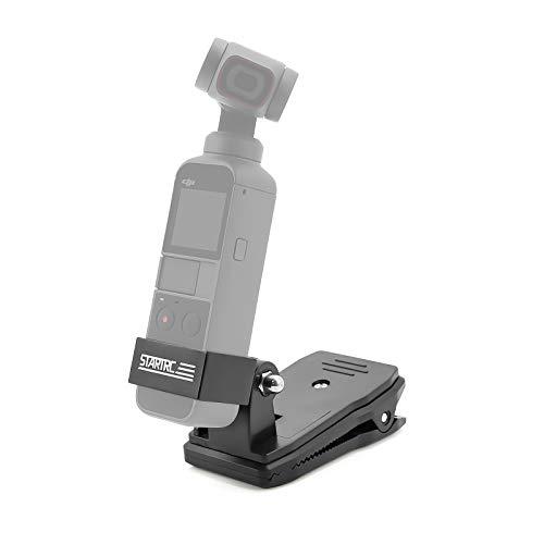 OSMO Pocket 2 Halterung Rucksackclip Adapter Zubehör für DJI Pocket 2/OSMO Pocket/OSMO Action Kamera Stativhalterung