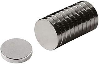 ネオジム磁石 10mm x 2mm STAR FOCUS(スターフォーカス) 【超強力 マグネット】 丸型 ボタン型 N35 [10個セット]