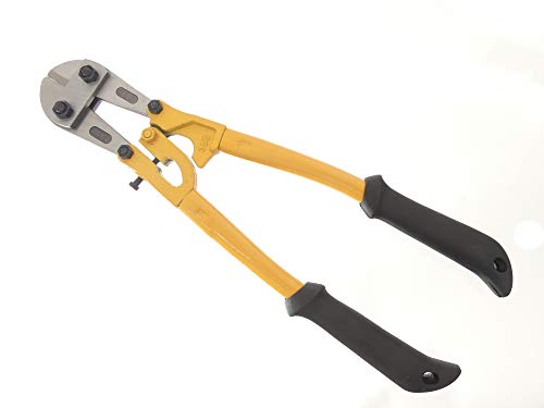 "Tech 12"" Bolt Cutter, Compound Action, Wire, Cable, Chain, Comfortable Grips, Snips, Hand Tools"