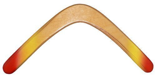Glacier Wooden Boomerang - for Kids 8-18! Great Returning Boomerangs