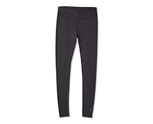 Smartwool Women's Baselayer Bottom - Merino 250 Wool Performance Pants Charcoal Heather